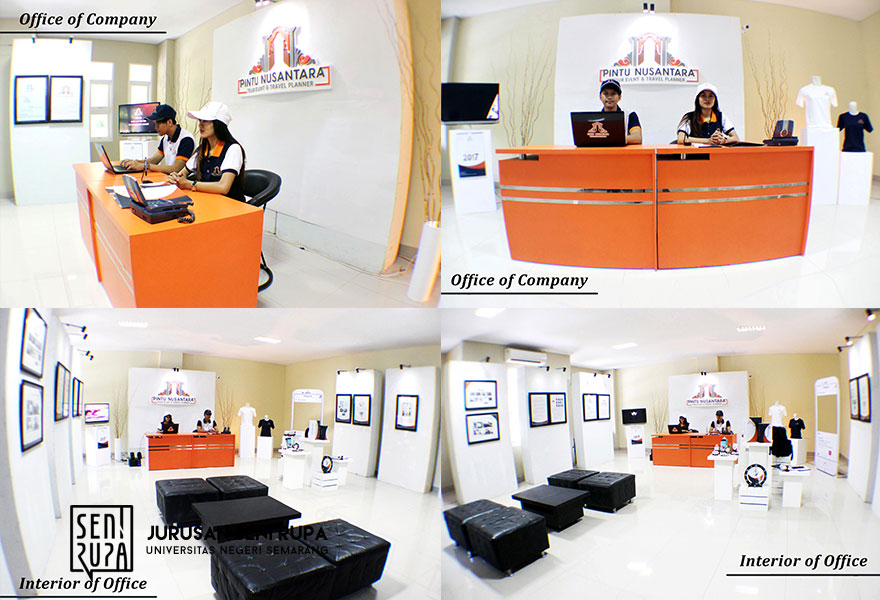 Identitas Visual PT. Pintu Nusantara Tour Event & Travel
