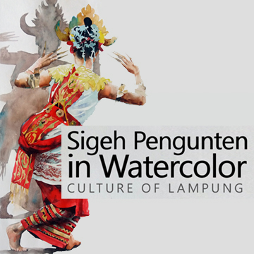 Sigeh Pengunten in Water Color