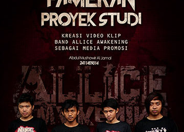 Pameran Video Klip Band Alice Awakening