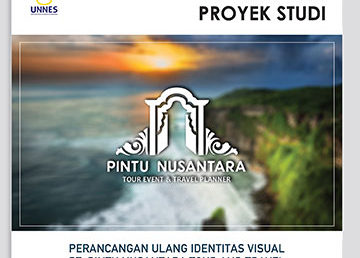 Pameran Identitas Visual PT. Pintu Nusantara Tour Event & Travel Planner