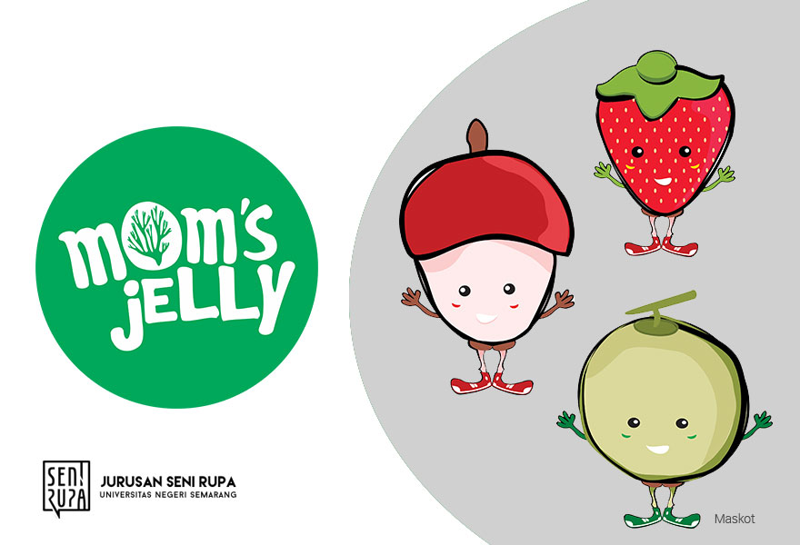 Identitas Visual Mom's Jelly Semarang